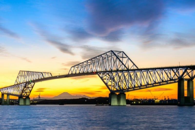 フォトジェニックな橋・東京〈東京ゲートブリッジ〉