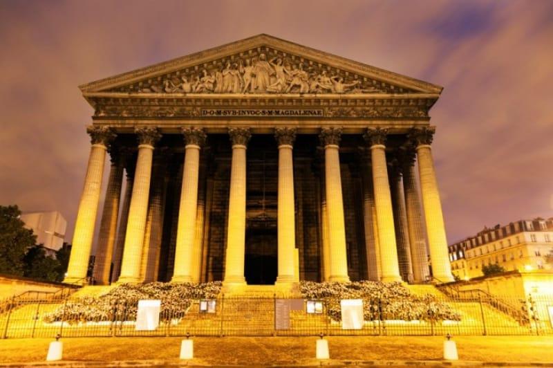 ギリシャ建築に憧れて「マドリーヌ寺院」