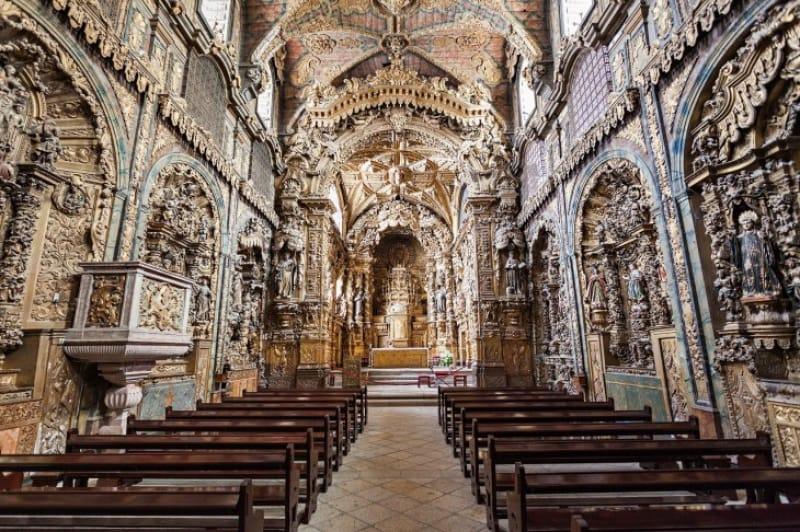 天正遣欧少年使節が滞在した教会「サン・ロケ教会」
