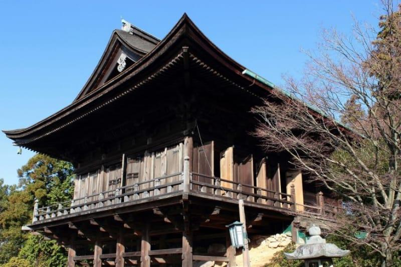 (5)最初に建てられた「如意輪堂」