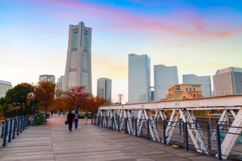 みなとみらいのシンボル・横浜ランドマークタワー