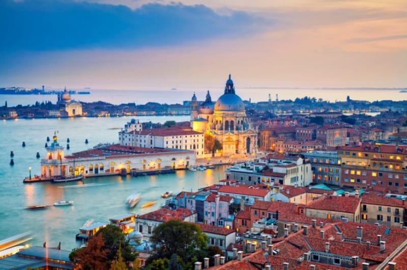 イタリア ヴェネチアの風景画像