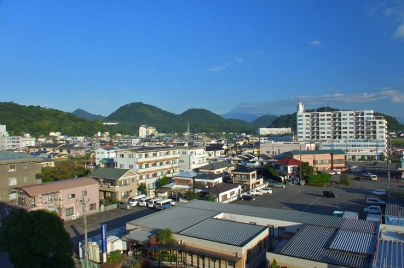 古奈温泉と長岡温泉をあわせて伊豆長岡温泉と呼んでいます
