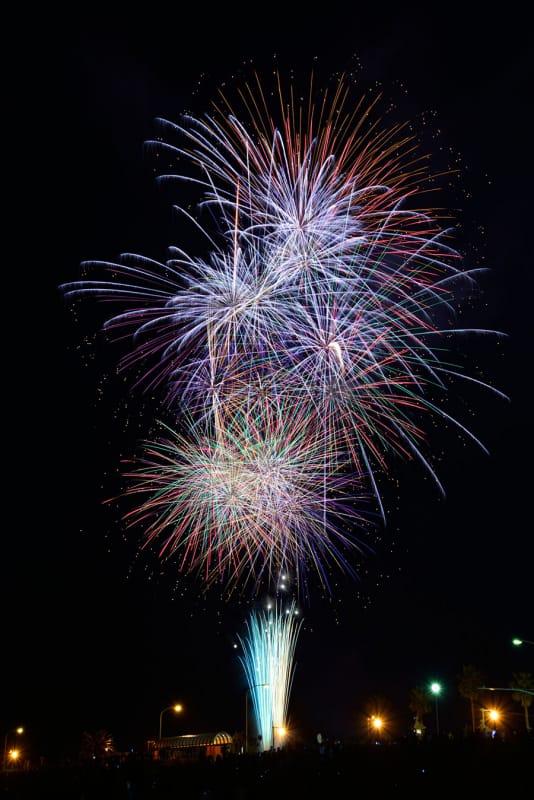 江の島の秋の訪れを感じる『ふじさわ江の島花火大会』
