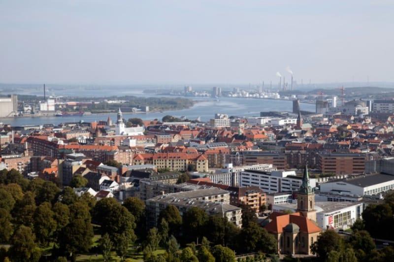 デンマーク第4の都市オールボー