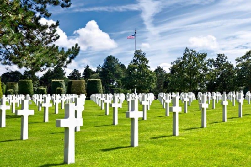 ノルマンディー米軍戦没者墓地