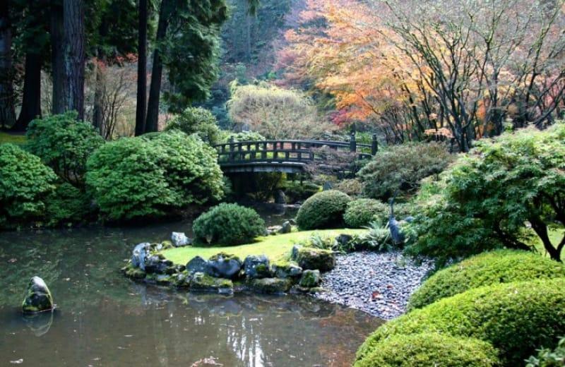 ワシントンパークのおすすめスポット③ポートランド日本庭園