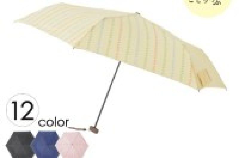 mabu×ことりっぷ フラット折りたたみ傘