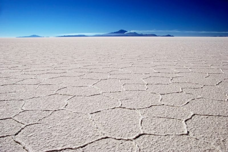 世界で最も平らな場所 ウユニ塩原