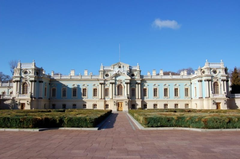 国賓を迎える宮殿