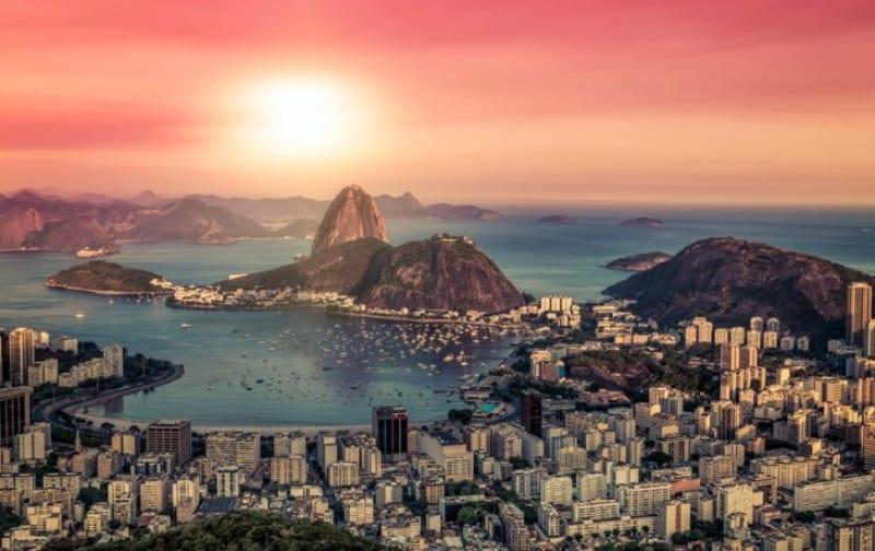 大自然と共に生きる街、リオデジャネイロ